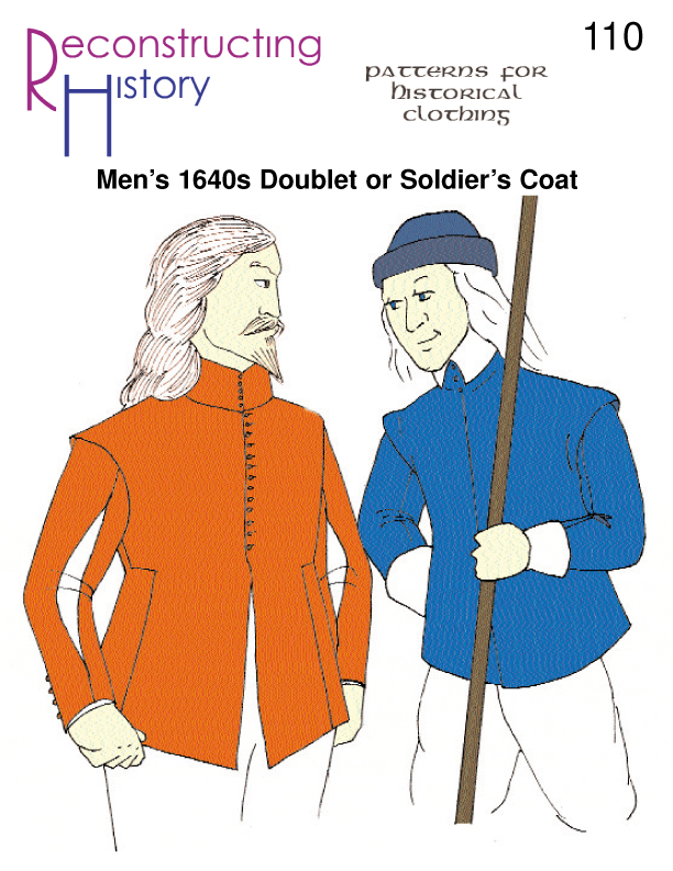 RH 110 1640s Doublet or soldier's coat