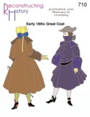 18th Century Women/'s Underpinning Schnittmuster RH 832