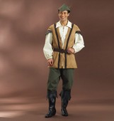B 4574 Men's Costume Middle Ages