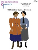 RH 1034 1890s-1910s Ladies' Cycling Bloomers