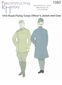 RH 1083 Offiziersmantel Royal Flying Corps 1916