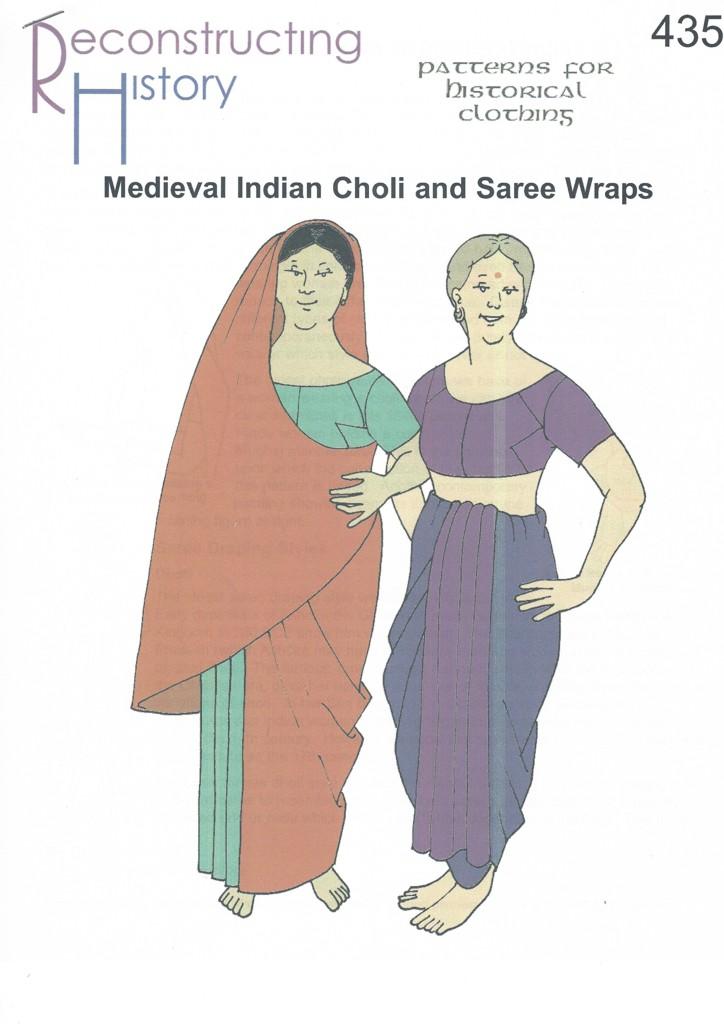 RH 435 Indische Choli und Sari Mittelalter