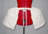 P 103 Rococo-Pannier white big size with vents