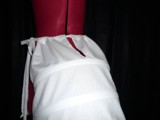 P 65 Roccoco pannier white with vents