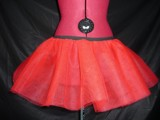U 306 Mini petticoat 3 layers, red