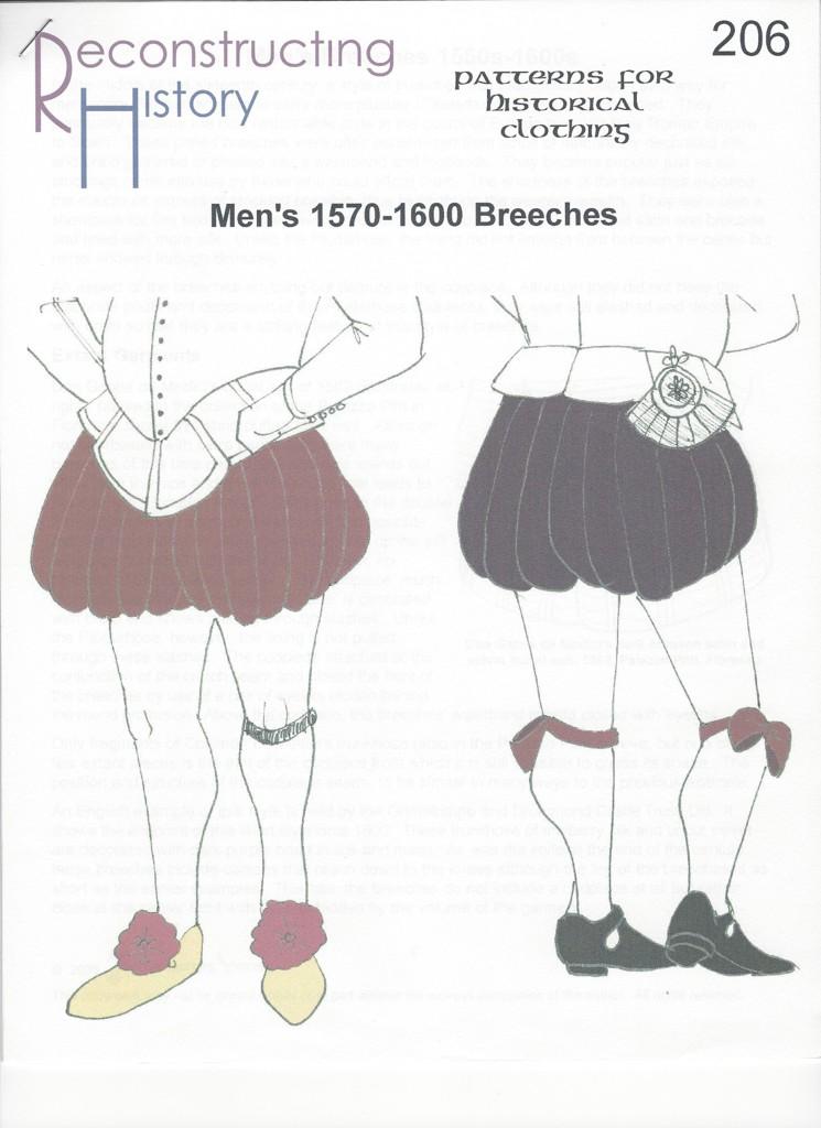 RH 206 Pluderhosen 1570-1600