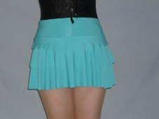 R 90 Mini skirt light blue