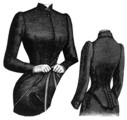 AP 1087 1891 Lady's Riding Habit